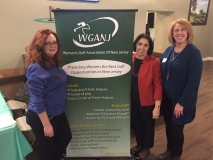 Maryann Beltz, Vivian DiStaso, Marie Scofield attended a fun night for the Women's Golf Association of NJ at The Clubhouse in Fairfield