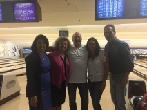 "Bowling Night with the Essex County Bar sponsored ""Bowling for Buy Back"" on August 14, 2018"